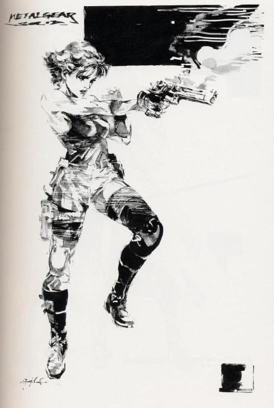 Meryl Sketch