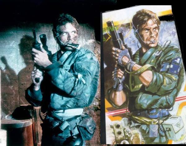 Kyle Reese and Solid Snake