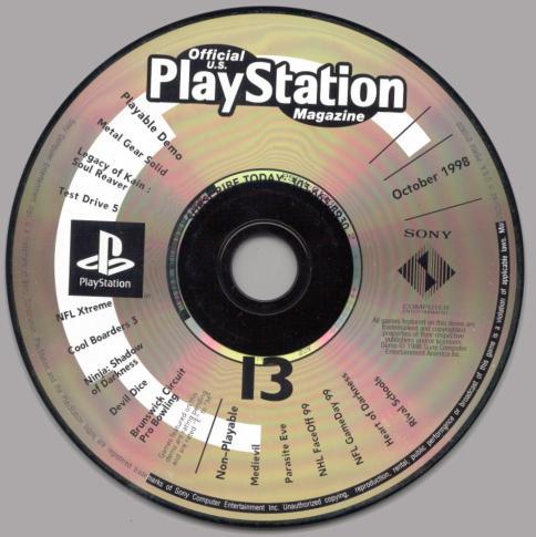 Psx Metal Gear Solid Demo Psx Magazine