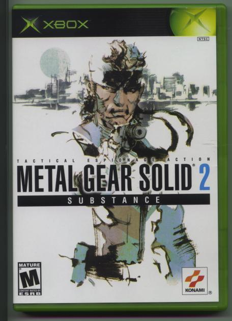 Metal Gear Solid 2 Substance XBox Information
