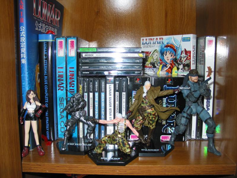 Metal Gear Figures