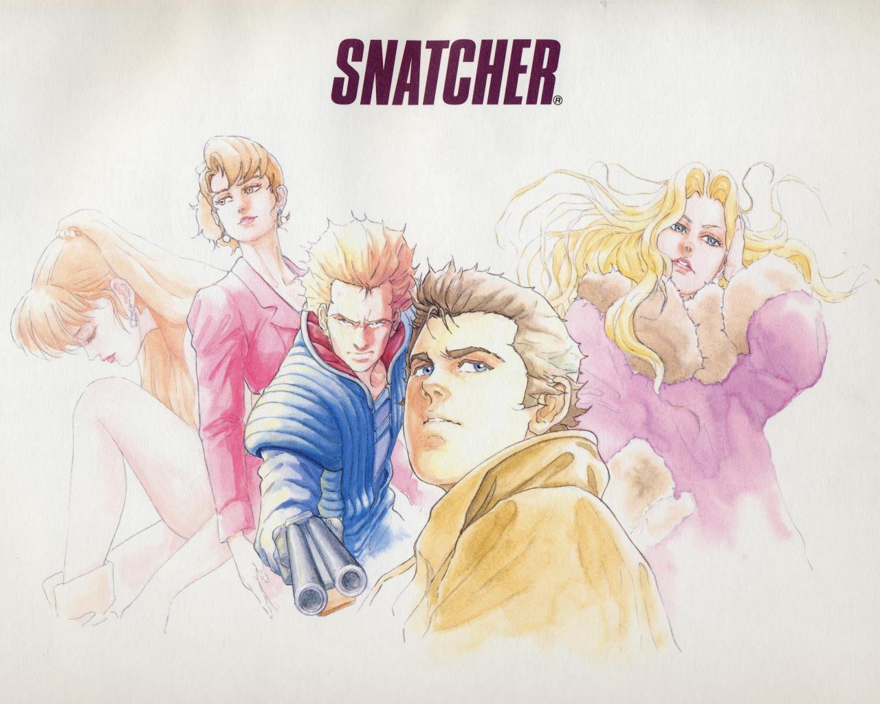 Snatcher Cast 1280x1024