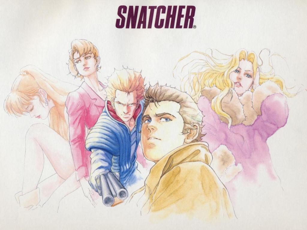 Snatcher Cast 1024x768