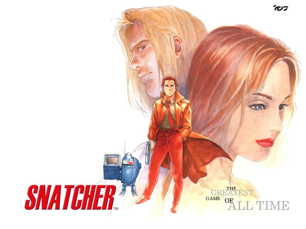 Snatcher Wallpaper by Andrew Jones